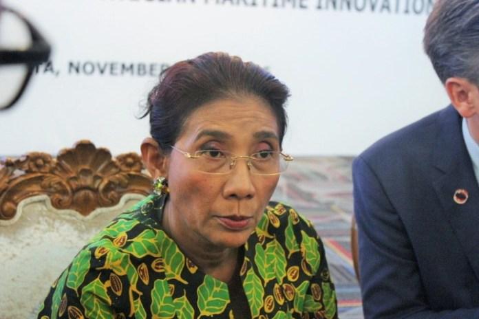 Menteri Kelautan dan Perikanan Susi Pudjiastuti di Kantor KKP, Jakarta, Senin (28/11/2016)/Foto Andika / NUSANTARAnews