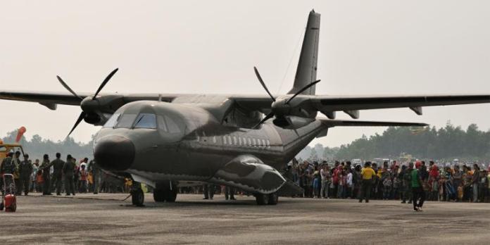 Pesawat CN-235 Produk buatan PTDI/Foto: Dok. Kompas