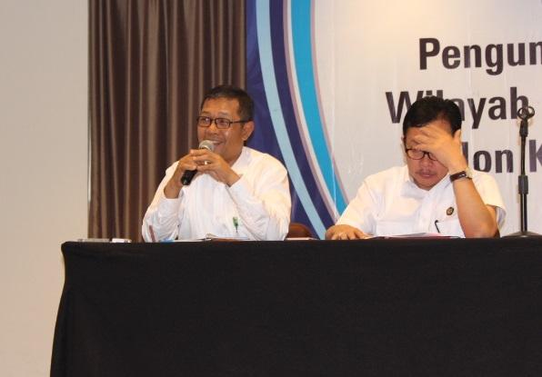 Direktur Pembinaan Usaha Hulu Migas Direktorat Jenderal Migas, Kementerian ESDM, Tunggal . Foto Andika/Nusantaranews