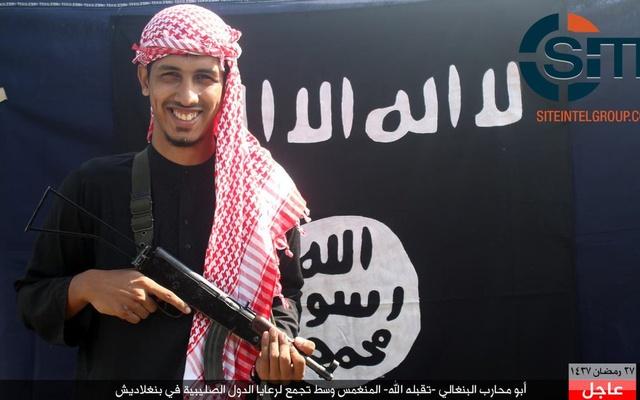 Kelomposk ISIS di jejaring SITE Intelligence Group. Foto via Thesundaily