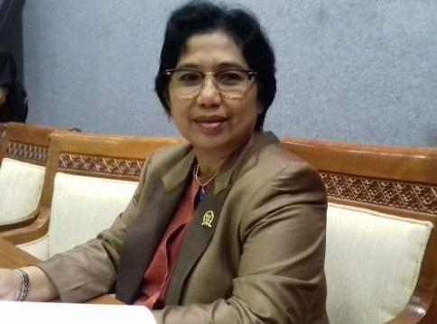 Ketua Dewan Pimpinan Pusat (DPP) Partai Nasdem, Irma Suryani Chaniago. Foto via suara.com