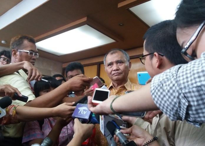 Ketua Komisi Pemberantasan Korupsi (KPK) Agus Rahardjo. Foto Fadhilah/Nusantaranews