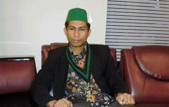 Ketua Pengurus Besar Himpunan Mahasiswa Islam (PB HMI MPO) Muhammad Fauzi . Foto via konfrontasi