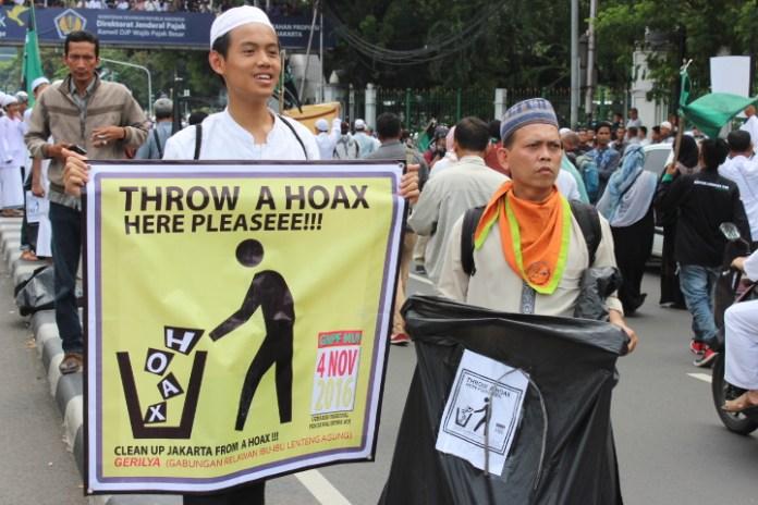 Kreatif, Peserta Aksi Masa Peduli Sampah. Foto Andika/Nusantaranews
