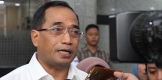 Menteri Perhubungan, Budi Karya Sumadi. Foto Andika/Nusantaranews