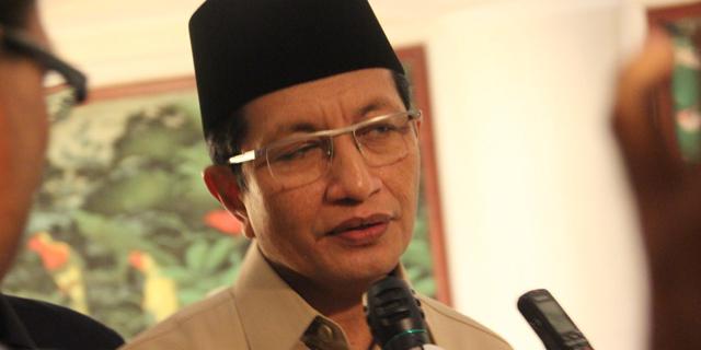 imam masjid istiqlal Nasaruddin Umar. Foto Via Syariahcenter