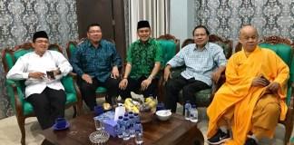 Rizal Ramli Di acara Haul Gus Dur di PKB. Bersama Sekjen PKB Abd Kadir Karding, Suhu Budha, dll/Foto Dok Pribadi (@RamliRizal )