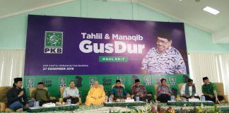 Haul Gus Dur Ke-7 Oleh DPP PKAB. Foto Dok. @BeritaPKB