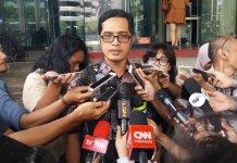 Jubir KPK, Febri Diansyah, di Gedung KPK, Jakarta, Jumat, (16/12/2016). Foto Fadilah/Nusantaranews