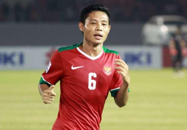 Pemain Timnas Indonesia, Evan Dimas. Foto Nusantaranews/IST
