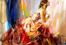 Praying For Love, Lukisan Anna Razumovskaya dijual US$130.83/Foto: Dok. framingpainting.com