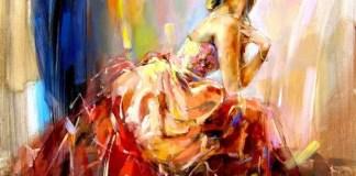Praying For Love, Lukisan Anna Razumovskaya dijual US$130.83/Foto: Dok. framingpainting.com