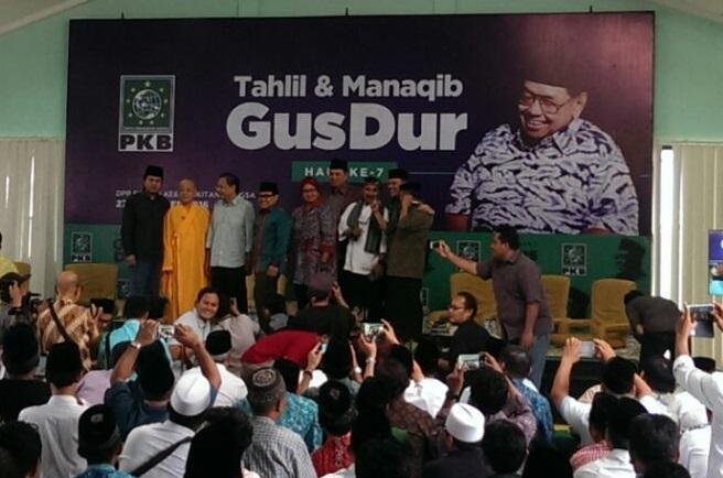 Rizal Ramli dan Beberapa Tokoh Nasional Hadiri Haul Gus Dur Oleh DPP PKB. Foto Hatim/Nusantaranews