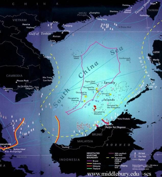 nine-dash line/Foto: Dok. EnerGeoPolitics