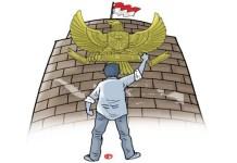 Amankan Pancasila, Selamatkan NKRI dari Paham Liberalisme dan Paham Khilafah. Foto Ilustrasi/IST