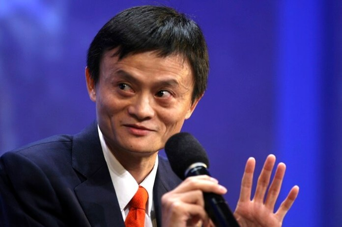Jack Ma, CEO Alibaba. foto IST