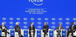 Forum Ekonomi Dunia Tahun 2017. Foto via weforum