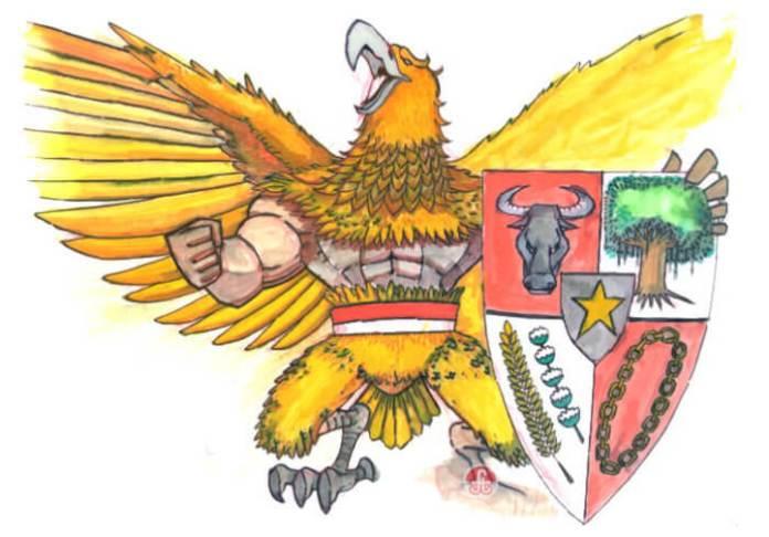 Garuda Pancasila. Foto Ilustrasi/IST