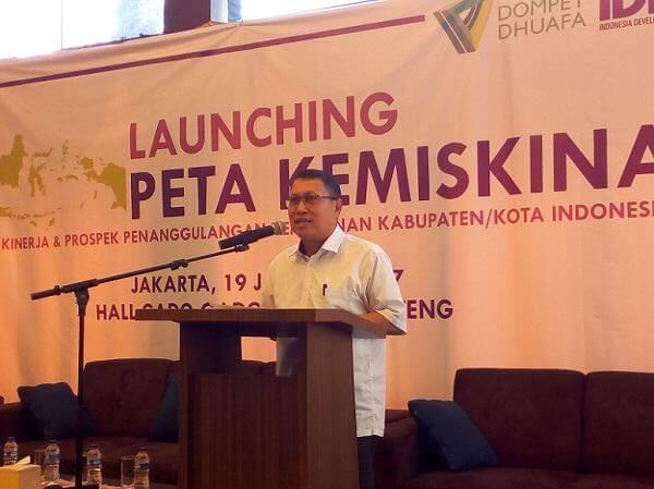 Dirjen Penanganan Fakir Miskin Kemensos Andi Zainal Abidin Dulung/Foto Adhon/NUSANTARAnews