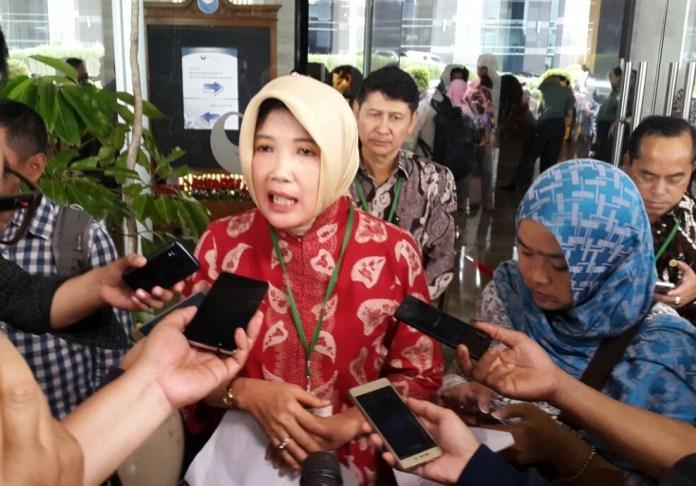 Kepala Badan Karantina Pertanian, Banun Harpini. Foto Andika/Nusantaranews