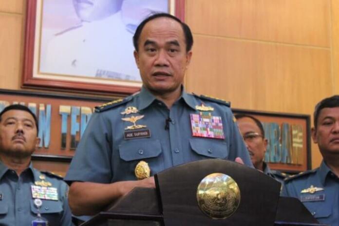 Kepala Staf Angkatan Laut (KaSAL) Laksamana TNI Ade Supandi. Foto Andika/Nusantaranews