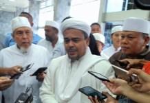 Habib Rizieq beserta rombongan saat di Gedung DPR RI/Foto Deni/NUSANTARAnews