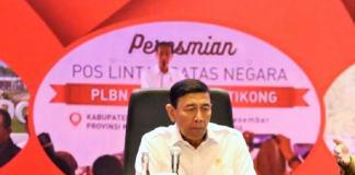 Wiranto saat membuka rapat koordinasi pengendalian pengelolaan perbatasan negara di Hotel Borobudur, Jakarta Pusat, Selasa (17/1)/Foto: Dok. Kemendagri