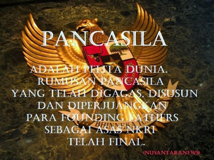 Ilustrasi: Pancasila Pelita Dunia/Foto Ilustrasi: NUSANTARAnews