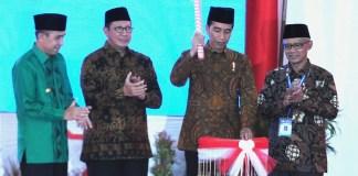 Jokowi Saat Membuka Tanwir/Foto Dok. Setkab