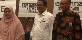 Menteri Kominfo Rudiantara (tengah)/Foto Andika/Nusantaranews