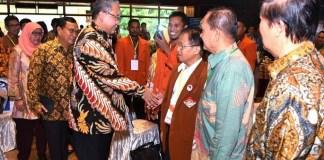 Mendes PDTT, Eko Putro Sandjojo disela-sela Rakornas dan Peringatan HUT ke-13 PATRI di Balai Makarti Muktitama, Jakarta, Jumat (17/2/2017)/Foto: Dok. Humas KemendesPDTT