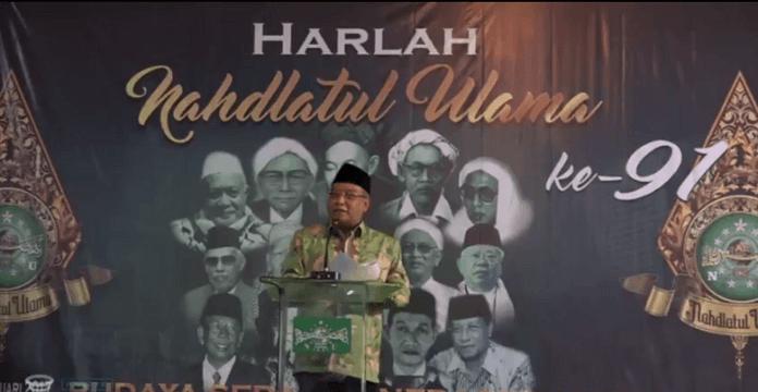 Ketua Umum PBNU, Said Aqil Siroj. Foto Nusantaranews