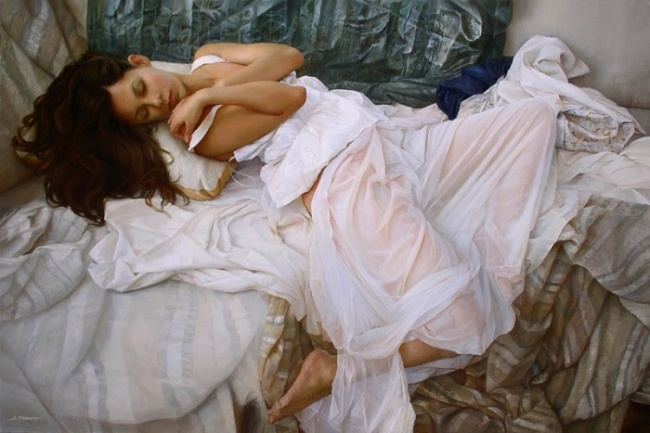 The elegant oil paintings of Sergei Marshennikov/Foto Istimewa