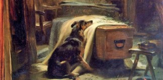The Old Shepherd's Chief Mourner-Edwin Landseer 1837/Foto: Dok. Psychology Today