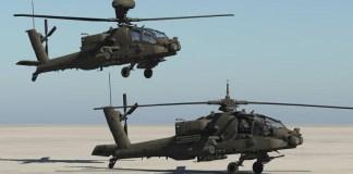 Attack Helicopter Apache/Foto Istimewa/Nusantaranews