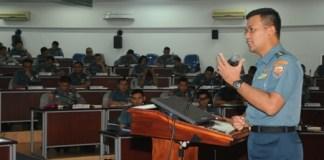Dekan Fakultas Manajemen Pertahanan (FMP) Universitas Pertahanan (Unhan) Laksda TNI Dr. Amarulla Octavian/Foto via maritim/Nusantaranews