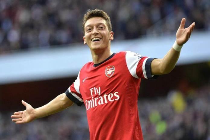 Gelandang Serang Arsenal Mesut Ozil/Foto Istimewa/Nusantaranews