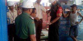 KABULOG MENGECEK BERAS HAIL SERAPAN/Foto. Dok. Pribadi/Nusantaranews