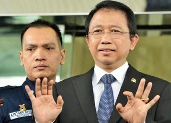 Mantan Ketua DPR Marzukie Ali/Foto: Dok. Covesia.com