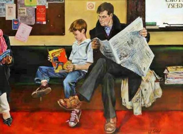 Relasi Seorang Ayah dengan Anaknya | Surrey Artists