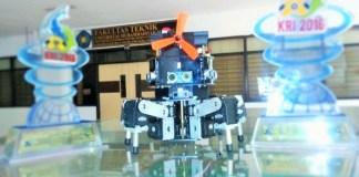 Robot Pemadam Kebakaran UMM Siap Berkompetisi di Kontes Robot Internasional AS/Foto: DOK. UMM