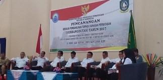 Ryamizard Ryacudu Dampingi Wiranto Canangkan Gerbangdutas di Natuna/Foto: Dok. Humas Kemenhan