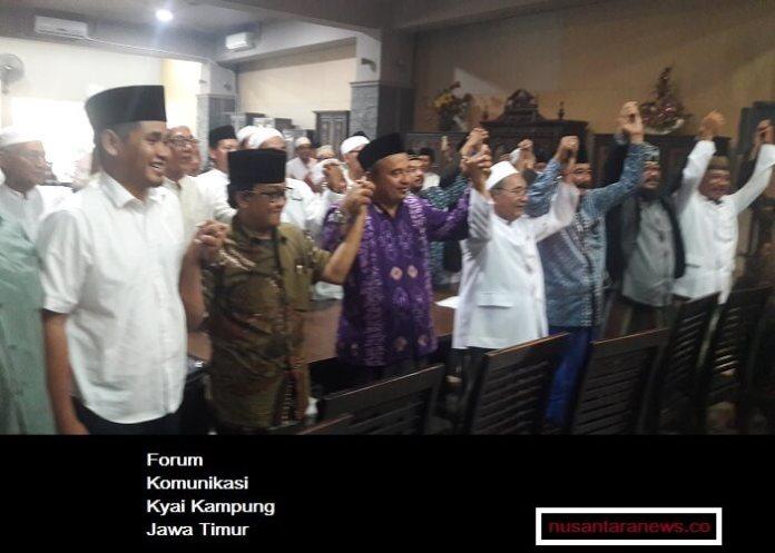 Forum Komunikasi Kyai Kampung ingin temua Jokowi. Foto Tri Wahyudi