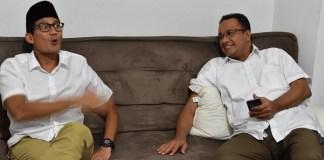 Anies dan Sandiaga uno/Foto Istimewa/nusantaranews