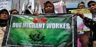 Buruh migran indonesia/Foto okezone/nusantaranews
