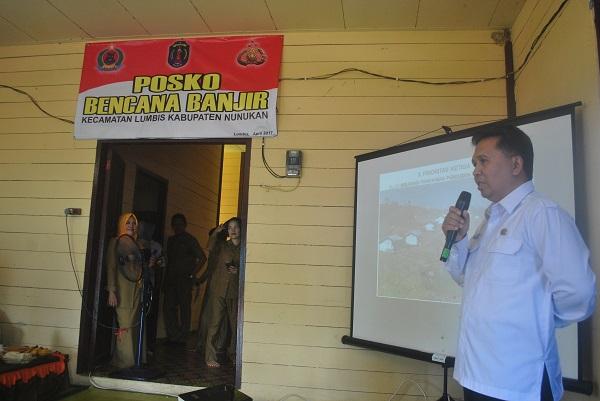 Asisten Deputi Pengelolaan Potensi Kawasan Darat BNPP, Tavipiyono. Foto Eddy Santry