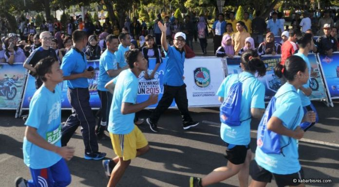 Lomba lari/Foto via kabarbisnis/Nusantaranews