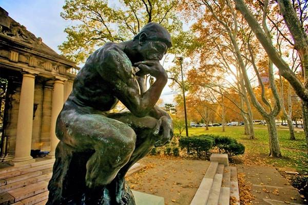 Auguste Rodin - The Thinker   Daxnatur