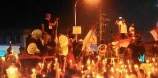 Demo di Cipinang. Foto: Youtube
