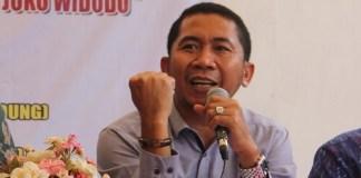 Peneliti dari Asosiasi Ekonomi Politik Indonesia (AEPI), Salamuddin Daeng. Foto Achmad Hatim/ NUSANTARAnews